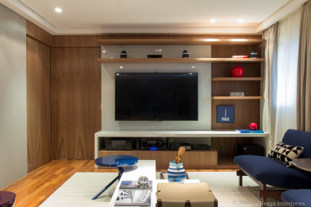 decoraçao de Home Theater